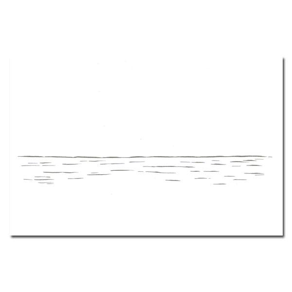 noritake SEA POSTCARD