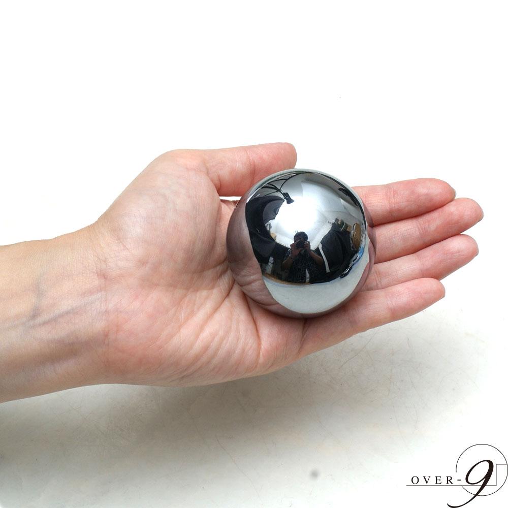 テラヘルツ鉱石 丸玉 マッサージボール 約50mm  【メール便不可】