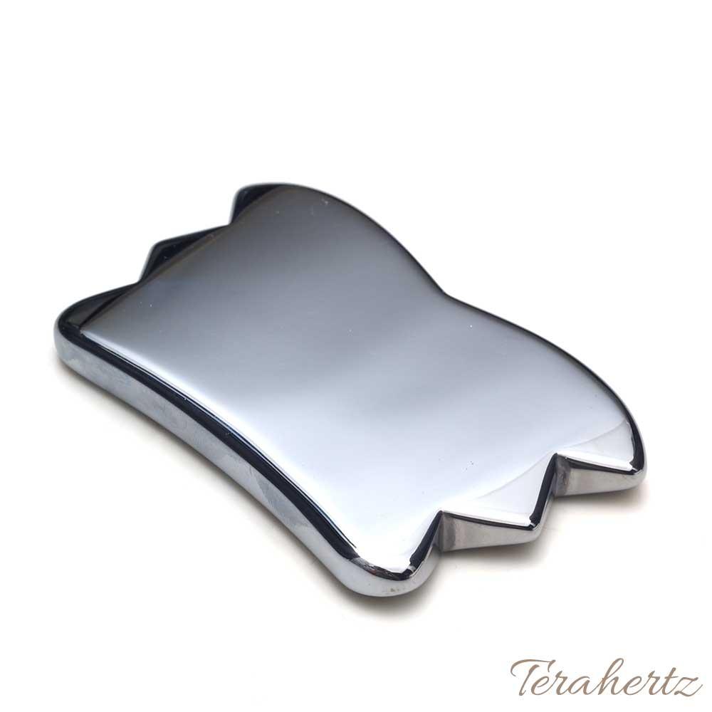 【テラヘルツ鉱石 かっさ バタフライ型 カッサ 約85mm×50mm×8mm】【メール便可】