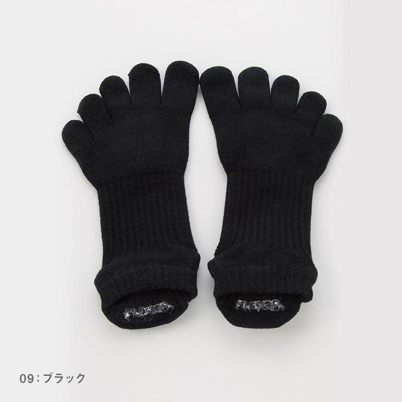Foot arch COLOR   アンクル(Support Type)   5本指ソックス 23-25cm
