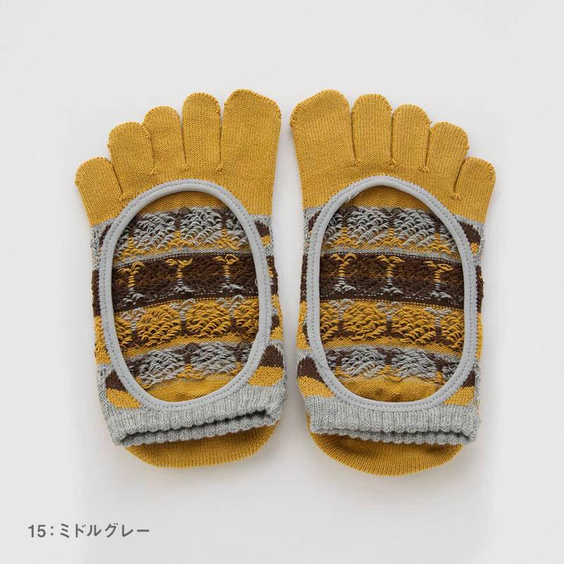 ファニードット   カバー   5本指ソックス 23-25cm