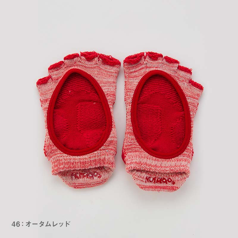 Foot arch マーブルツートン   カバー指無し   5本指ソックス 23-25cm
