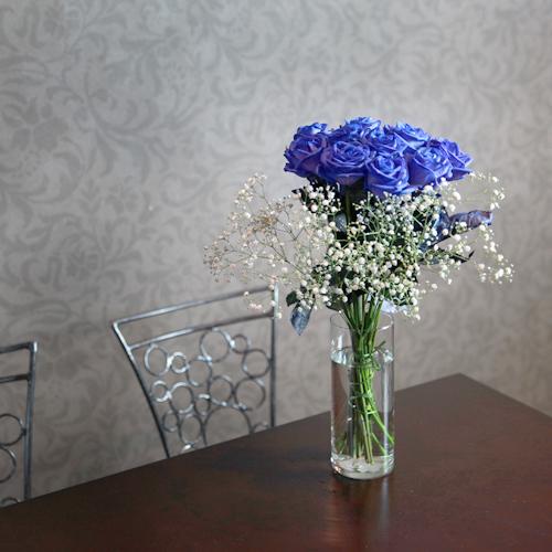 クリア花瓶(S)8本〜15本用