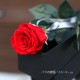 赤薔薇 プリザーブドフラワー 縦長BOXギフト