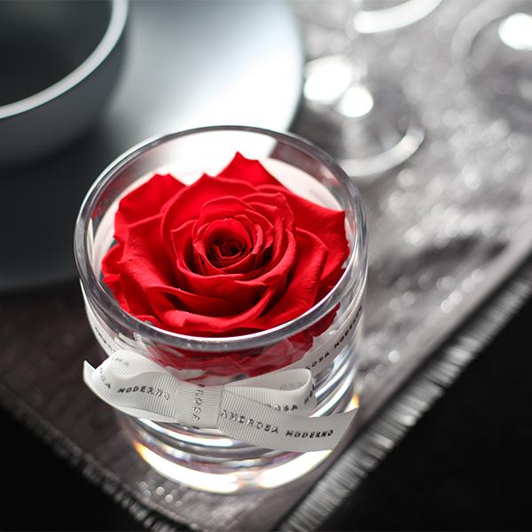 赤薔薇 プリザーブドフラワー ブリリアント(S)