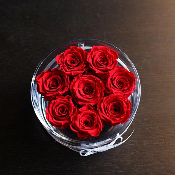 赤薔薇 プリザーブドフラワー ブリリアント(M)