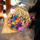 レインボーローズ 20本の花束