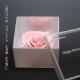 薔薇 プリザーブドフラワー メッセージ白BOX