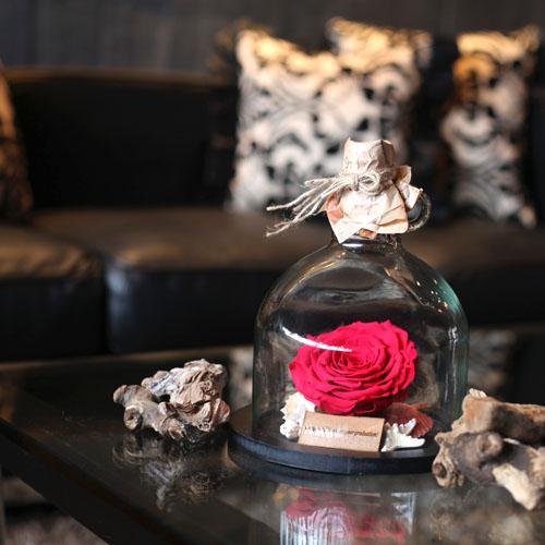 薔薇 プリザーブドフラワー メッセージボトル