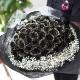 黒薔薇 50本の花束