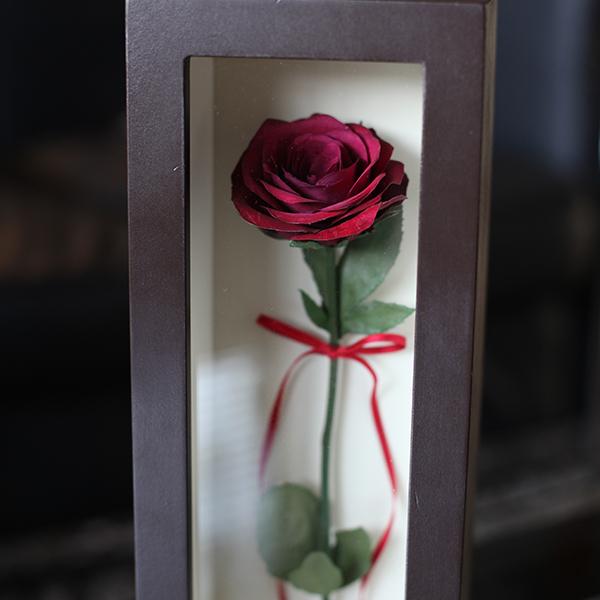 ドライフラワー 赤薔薇 マリアージュ・アン BOXタイプ