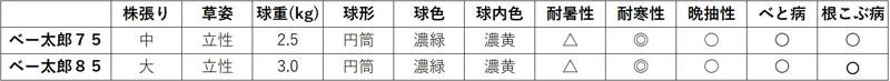 小林種苗 ハクサイ種子 きになる白菜ベー太郎75