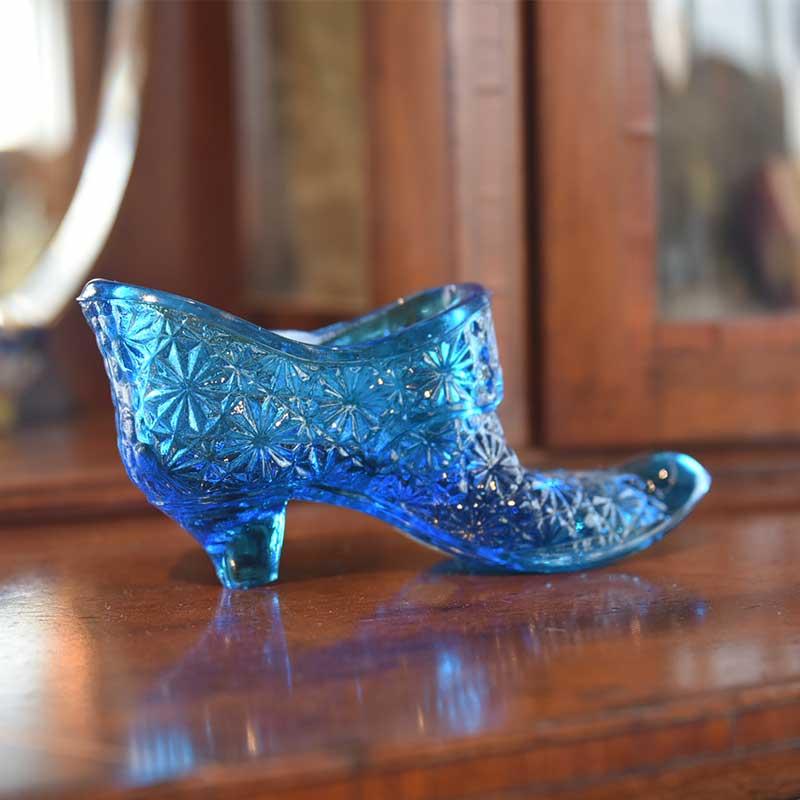 ガラスのブーツ.Blue