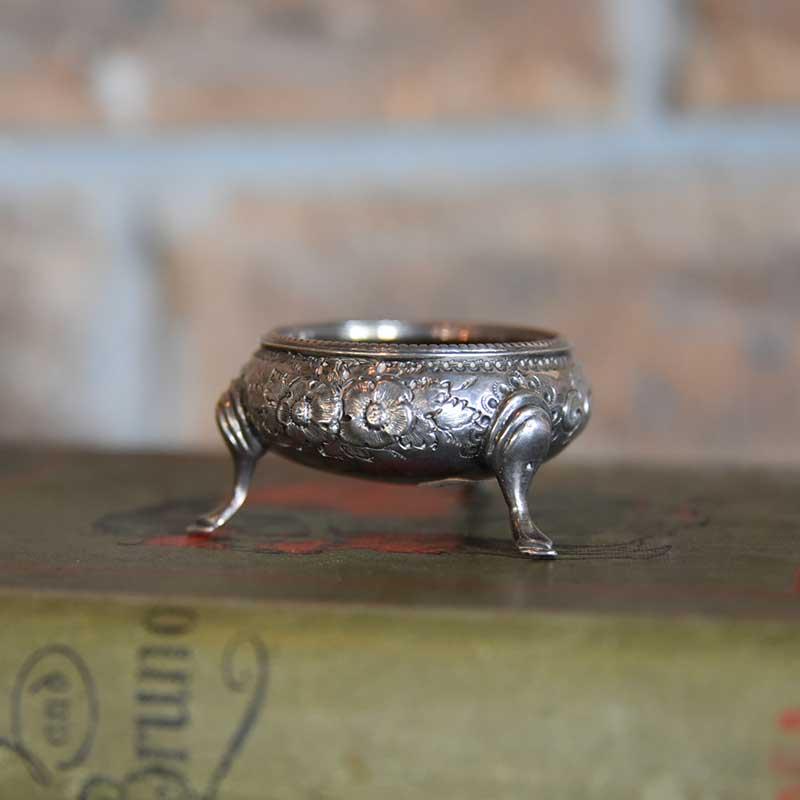 Silver ホールマーク入り アクセサリートレイ(小物入れ)