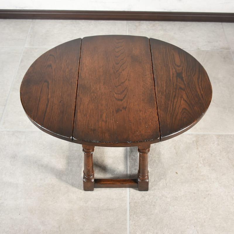 コーヒーテーブル(ドロップリーフテーブル)