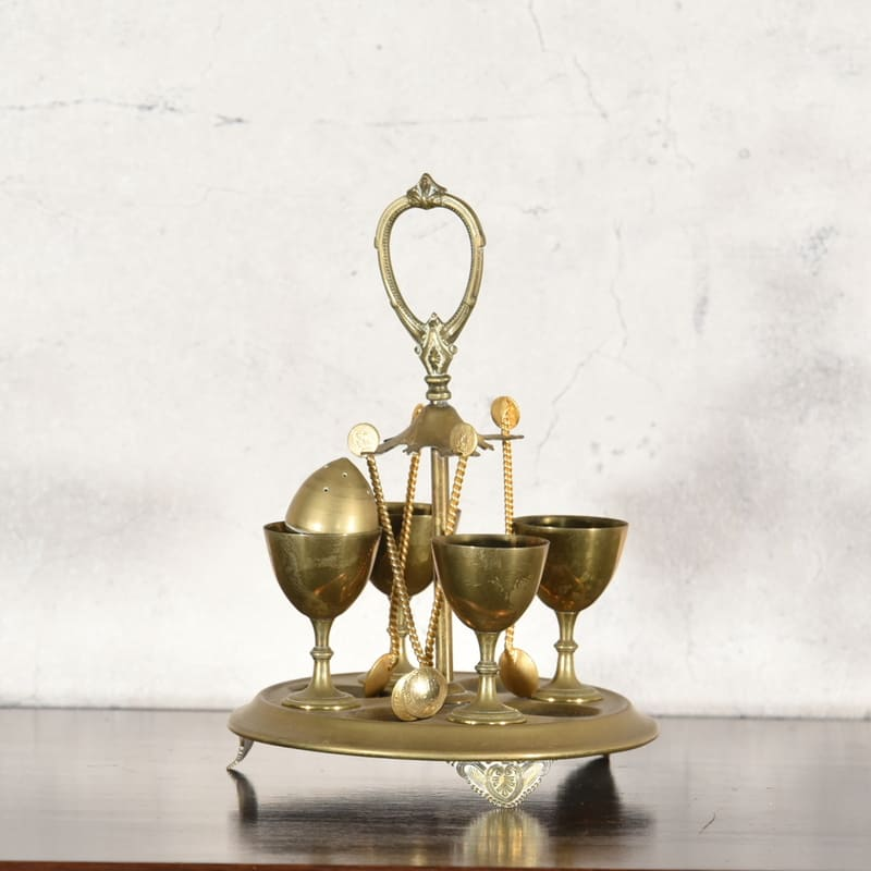 真鍮製 エッグスタンド