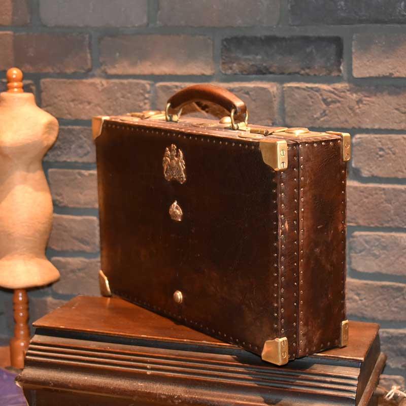 英国王室の紋章 レザーケース
