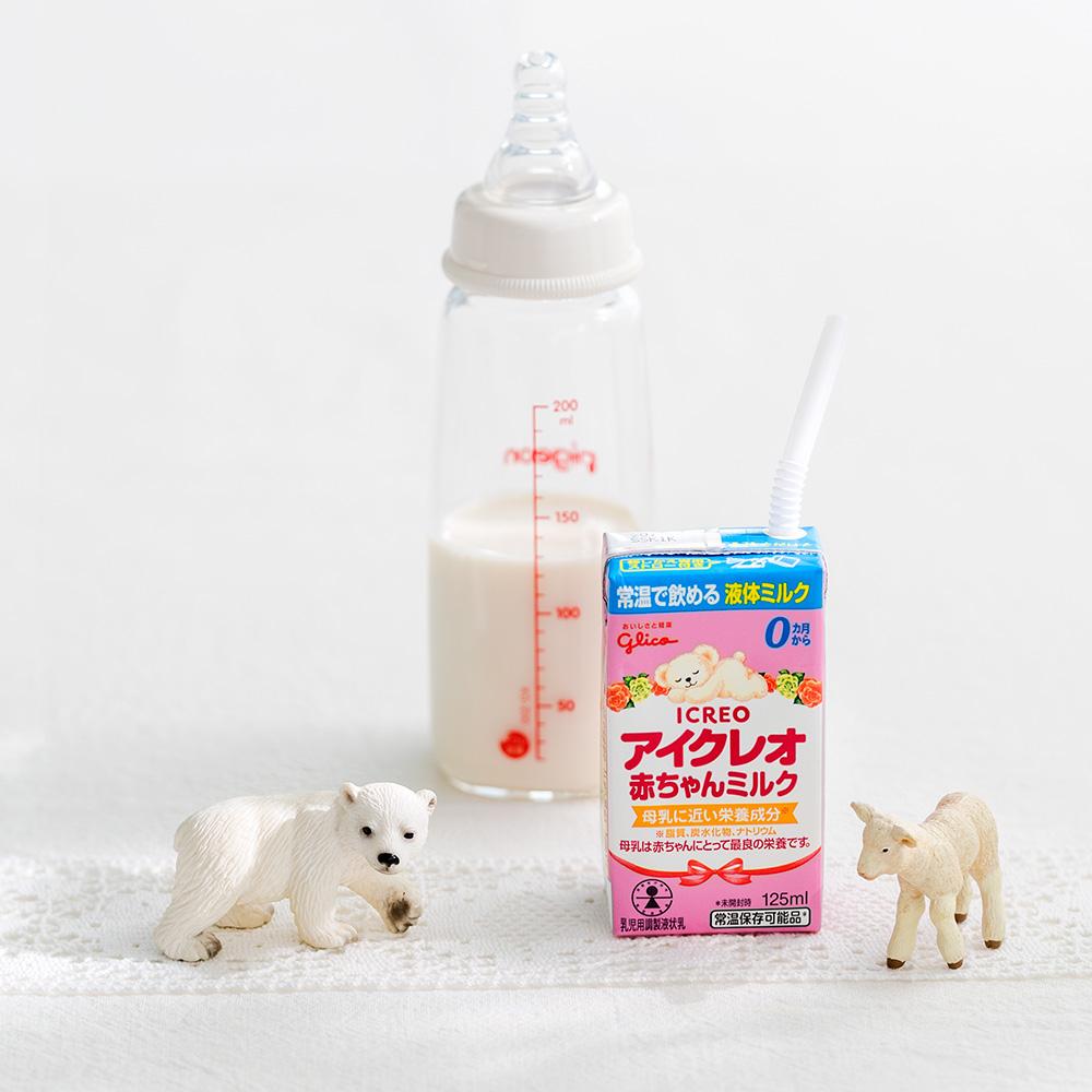 アイクレオ 赤ちゃんミルク【常温で飲める液体ミルク 4本】