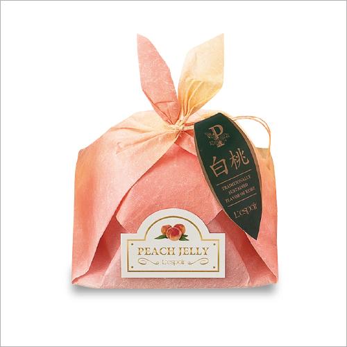 ピーチゼリーP19 -国産白桃のハーフカットを、そのままデザートに