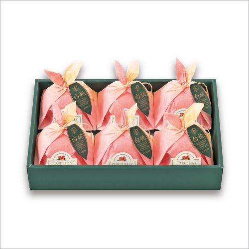 ピーチゼリーP37 -国産白桃のハーフカットを、そのままデザートに