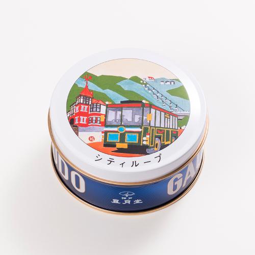神戸六景ミニゴーフル 3入  −版画家 川西祐三郎氏が描いた神戸の風景をデザインしたミニゴーフル