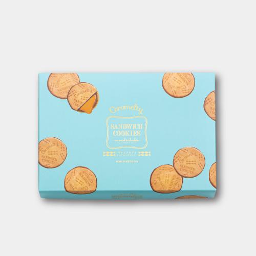 キャラメルティ サンドウィッチクッキー15入 −キャラメルソースをサンドした新食感クッキー