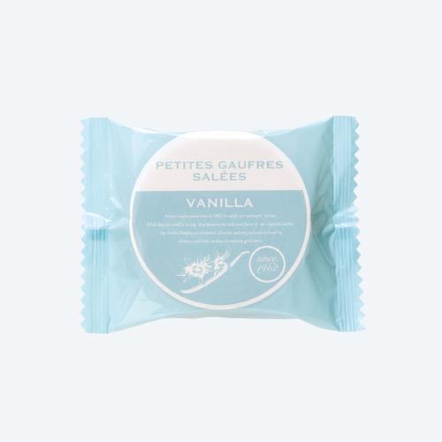 プティーゴーフル サレ6B バニラ −クリームに塩を使用した新しい風味