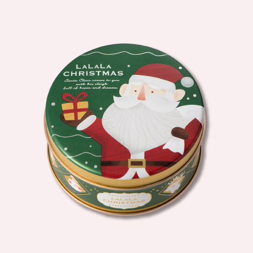 クリスマス ミニゴーフル サンタ  −クリスマス パッケージのミニゴーフル