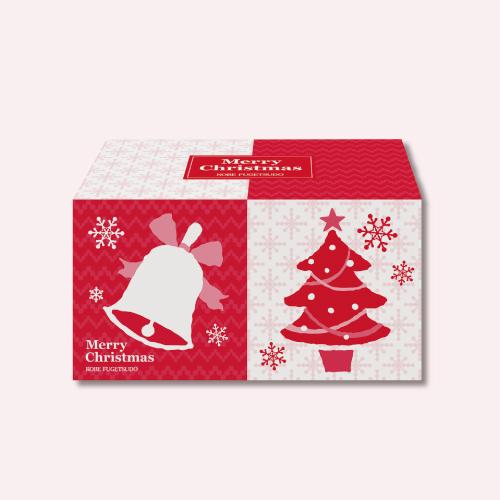 クリスマス スイーツCS20B  −クリスマス パッケージのプティーゴーフルとクランチのセット