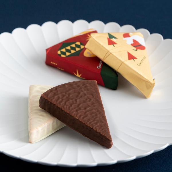 クリスマス ゴーフレールG5B -サクサクとした軽い食感のミルフィーユショコラ