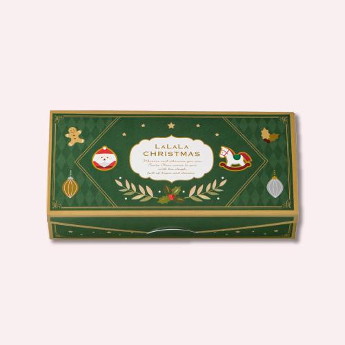 クリスマス ミニゴーフル 2入  −クリスマス パッケージのミニゴーフル
