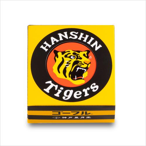 阪神 ミニゴーフル  −阪神タイガース 虎のマークをデザインした小さいサイズのゴーフル