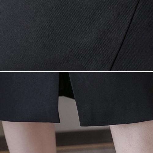 タイトスカート レディース ひざ丈 シンプル カジュアル きれいめ ハイウエスト ブラック ベージュ 20slb131xyz