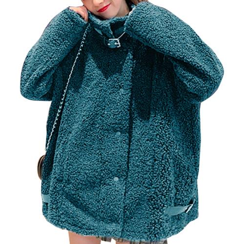 ボアコート ボア オーバーサイズ シンプル ショート丈 レディース 秋冬 レッド グリーン ブラック 19alj154xyz
