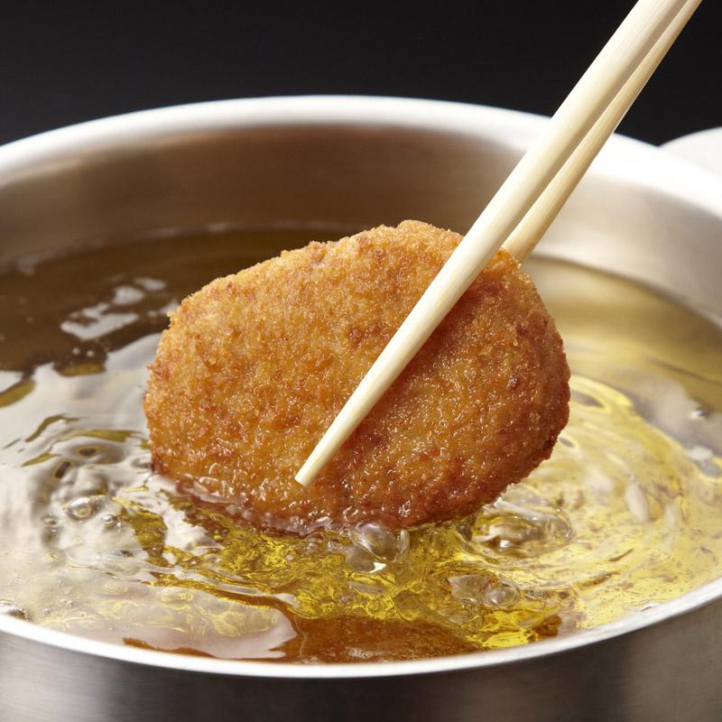 [おそうざい]神戸森谷のコロッケ 【ダウンタウンの浜ちゃんが「ごぶごぶ」で食べた!神戸元町で行列ができるおそうざい売上ナンバー1!】(冷凍)
