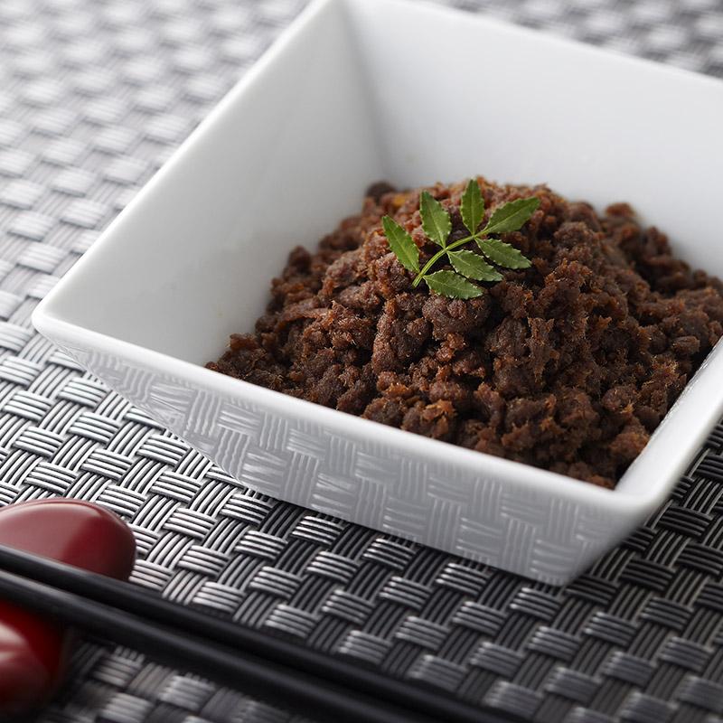 神戸牛そぼろ・肉味噌セット2個入り 【ちょっとした贈り物に 伝統の神戸牛佃煮そぼろと珍しい肉味噌とのセット】(冷蔵)