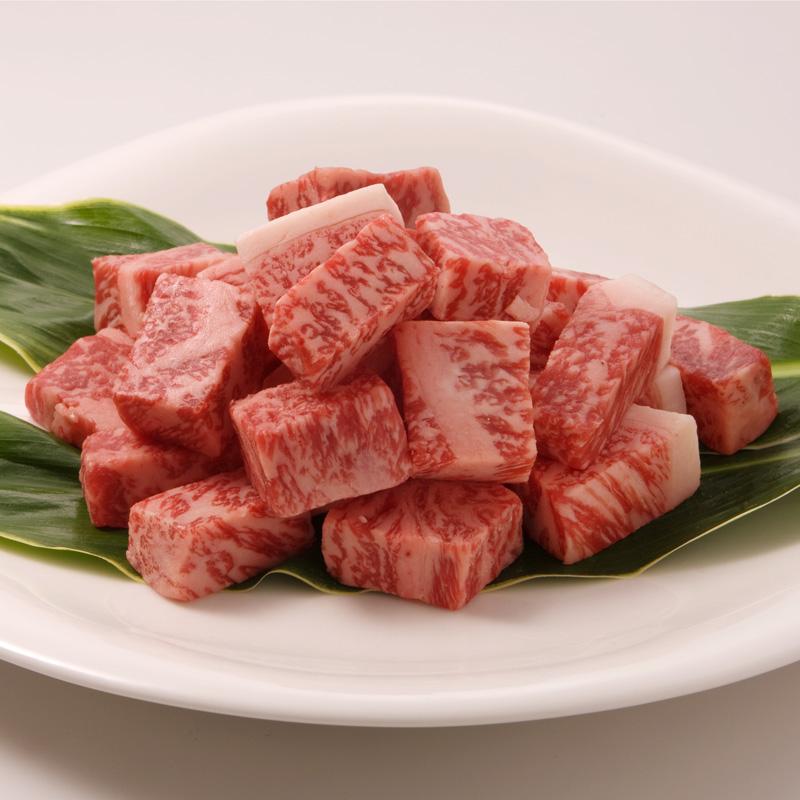■森谷の肉■黒毛和牛サイコロステーキ 【旨みたっぷりジューシーな一口サイズの厚みがあるステーキ 】(冷蔵)