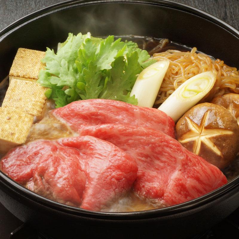 サイトリニューアルセール!黒毛和牛ロースすき焼き(冷凍)