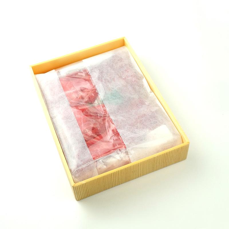 《ギフト包装》木目調贈答箱(二重包装)
