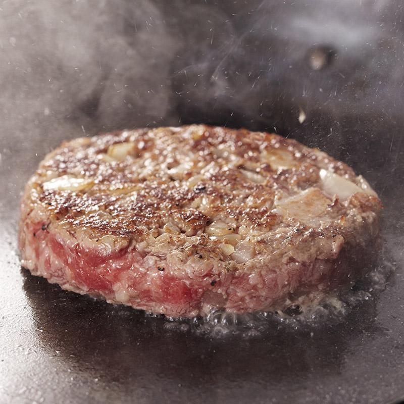 【お中元解体セール】神戸牛ハンバーグステーキ『宝珠』 バラ売り(冷凍)