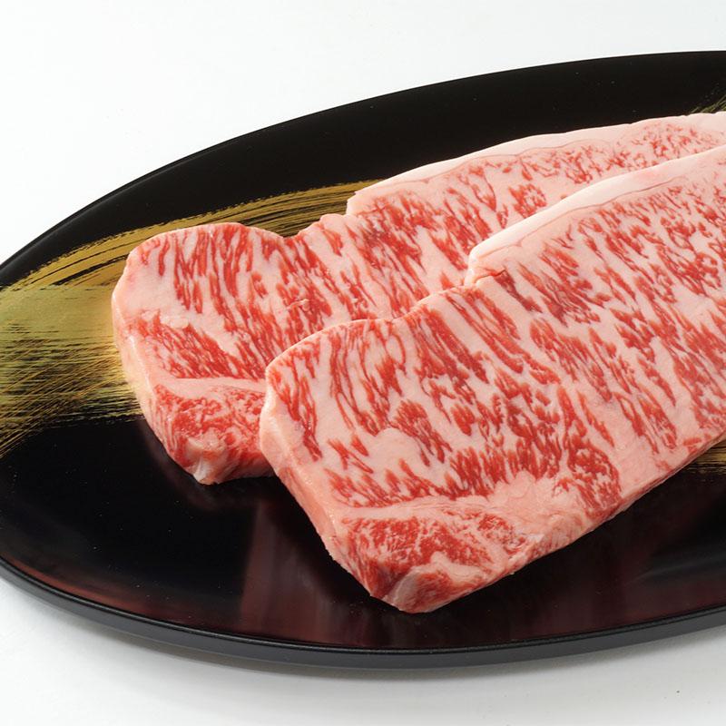 神戸ワインビーフサーロインステーキ3枚入&神戸ワインセット(送料込)【神戸の名産で育った牛肉とワインの共演】(冷蔵)