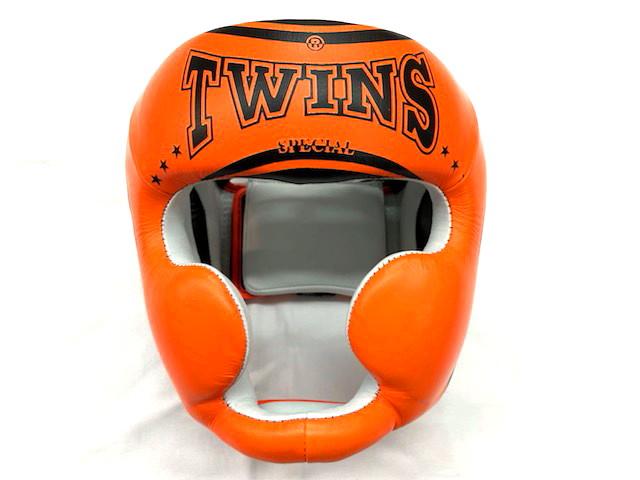 TWINS ロゴパターン  ヘッドガード(顎ガード付き)