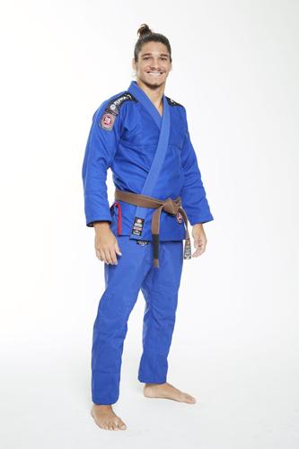 ATAMA柔術衣 ウルトラライト 青