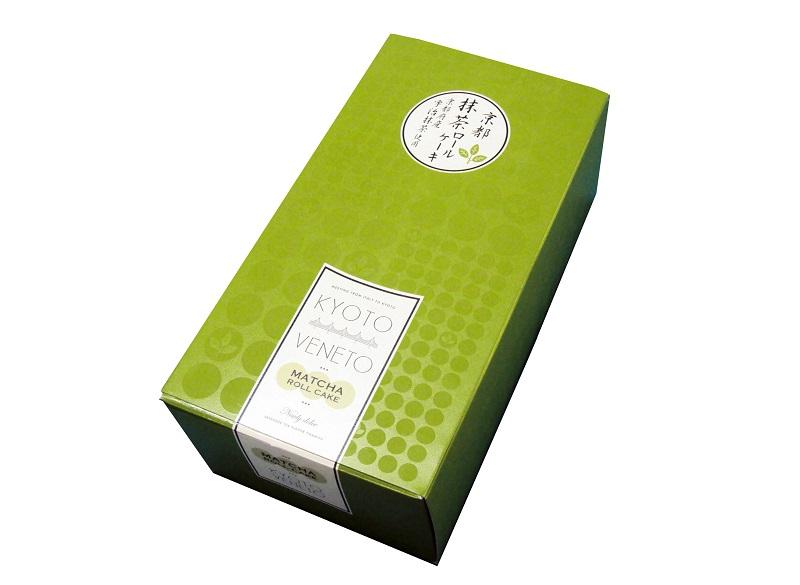 京都抹茶ロールケーキ(長さ約16cm)【冷蔵便】