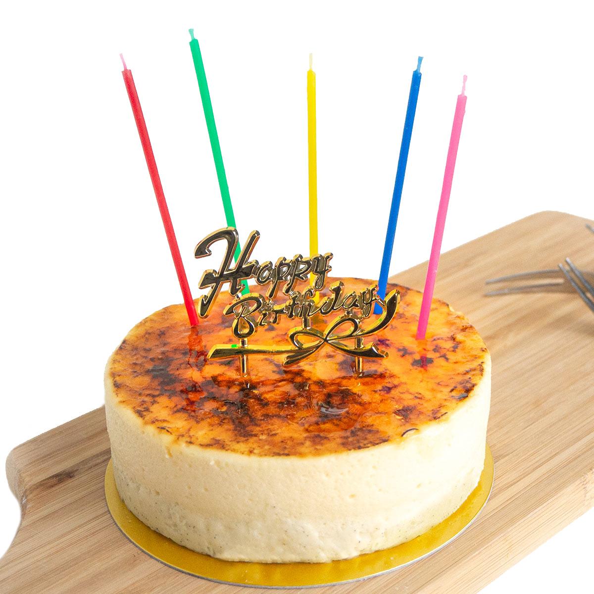 【送料込】神戸バニラフロマージュのバースデーケーキ 4号(約12cm 2~4名様)【冷凍便】