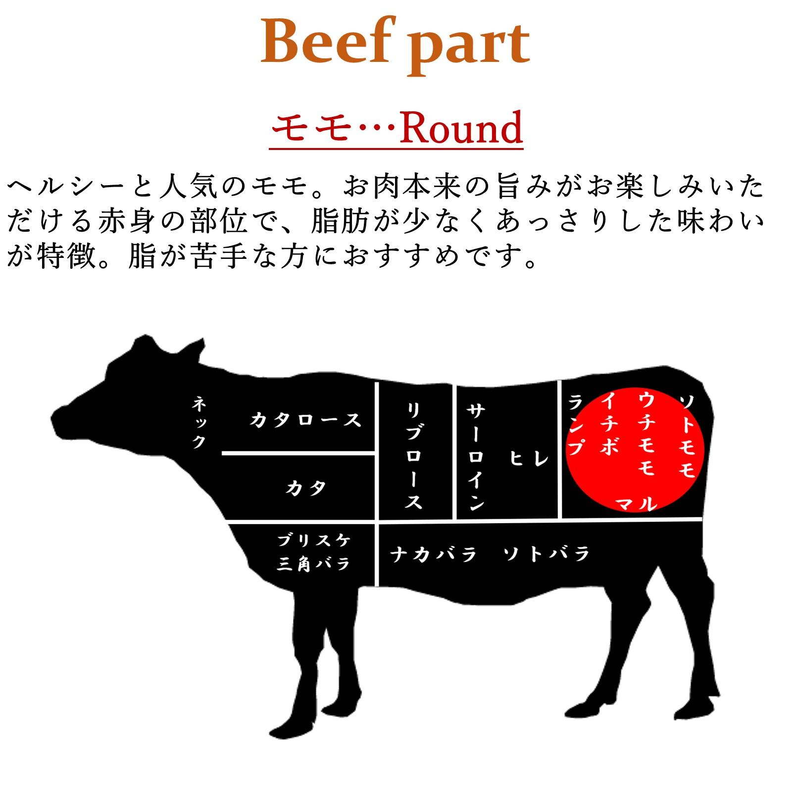 氷温熟成 黒毛和牛ミニステーキ モモ肉