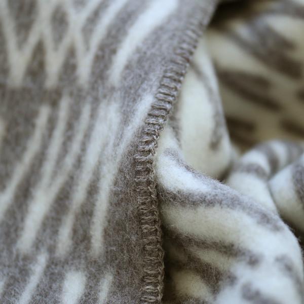 【送料無料】<br>Roros TWEED (ロロスツイード)<br>NATURPLEDD(ナチュールプレード) ブランケット<br>KNYTTE(クニッテ)ピュアニューウール100%<br>北欧/インテリア/ウール/羊毛/毛布/膝掛け/ひざ掛け<br>【国内正規取扱店】