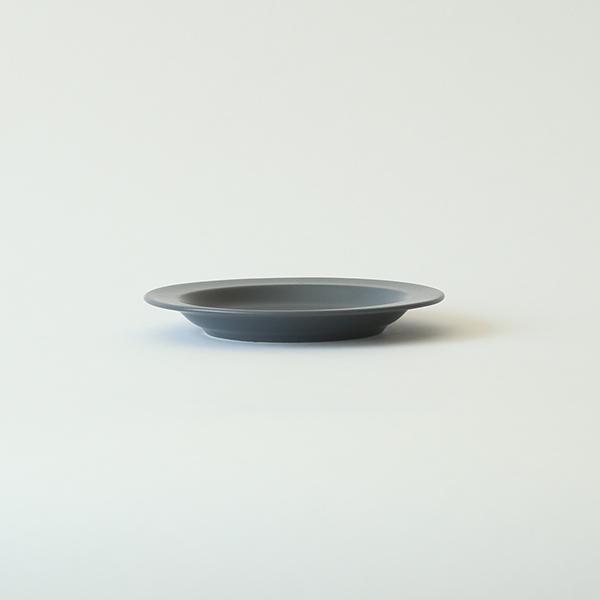 kura common (クラ コモン) Ena (エナ) リムプレート 16cm スレートグレー/マット 和洋食器/食器/皿