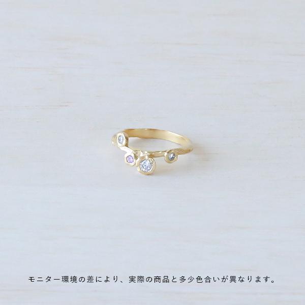 Enamel (エナメル) リング 50/52 ローズ ゴールド【メール便】【送料無料】