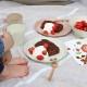 ideaco (イデアコ) usumono プレート 18cm サンドホワイト 食器/メラミン食器/アウトドア